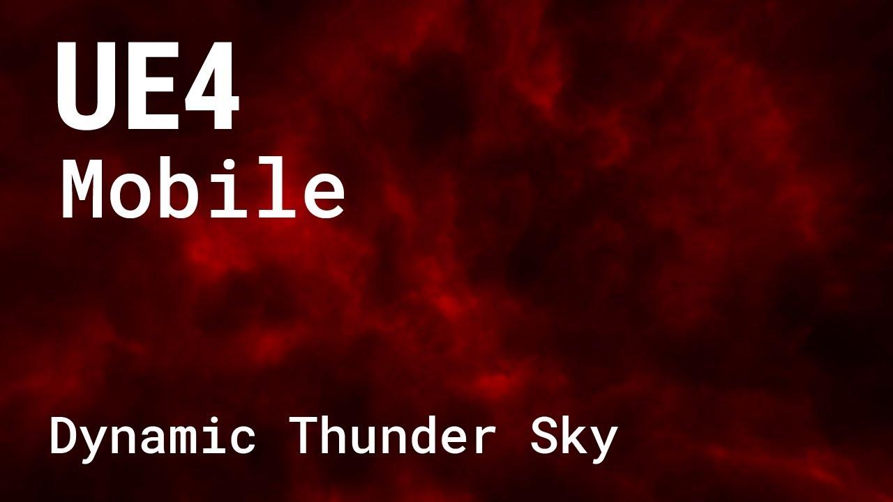 Ue4 Mobile Sky
