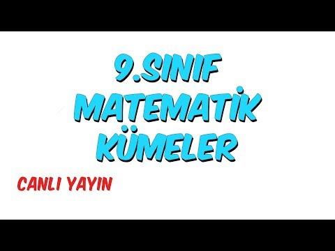 9.Sınıf  Matematik - Kümeler
