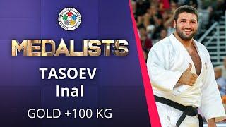 TASOEV Inal Gold medal Judo Osaka Grand Slam 2019