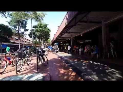 A glimpse of Changi Village & Changi Beach