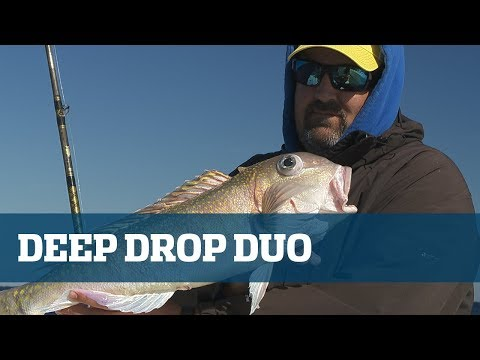 Florida Sport Fishing TV Deep Drop Duo Rosies & Golden Tiles