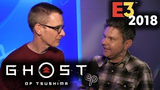 Ghost of Tsushima's Samurai Combat! - Electric Playground Interview