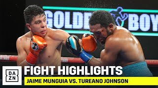 HIGHLIGHTS | Jaime Munguia vs. Tureano Johnson
