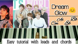 Baixar BTS - Dream Glow (BTS World Original Soundtrack) [Pt. 1](Feat. Charli XCX) 방탄소년단 Easy Piano Tutorial