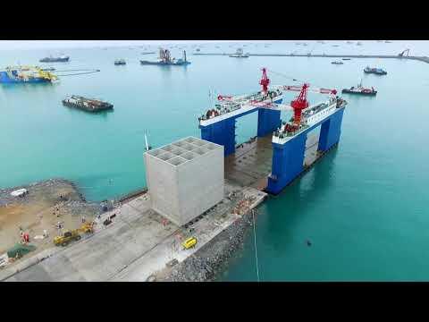 Quay Wall Construction Coastal Engineering