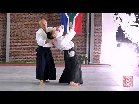 Osawa Hayato Shihan, 7 th Dan Aikikai, Aikido Demonstration, Cape Town 2015
