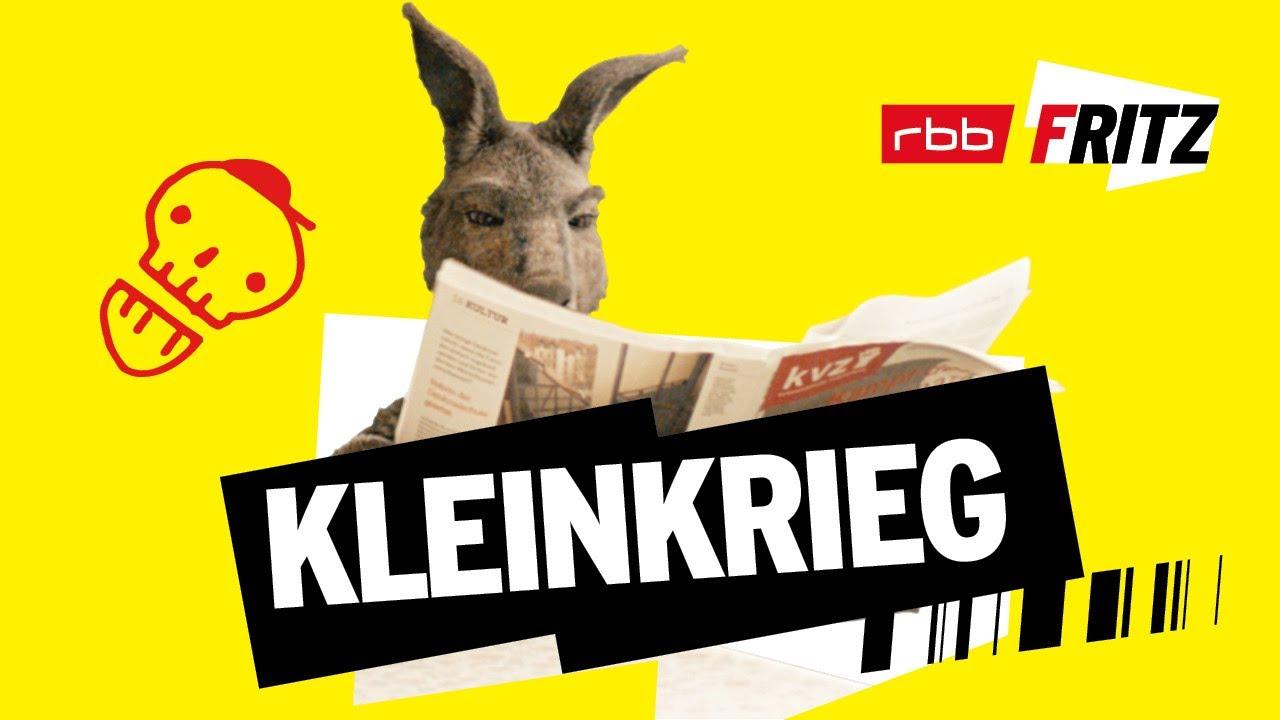 Kleinkrieg | Neues vom Känguru reloaded | Marc-Uwe Kling | Känguru-Chroniken-Storys