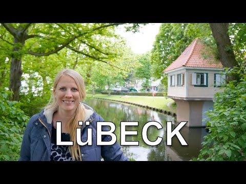 Idyllic Lübeck: Best Burgers and River Bank  - GERMANY travel Lubeck