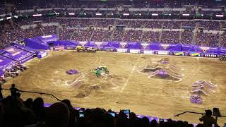 Grave Digger Freestyle | Monster Jam Indianapolis 2/10/18