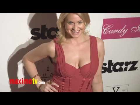 "Ashleigh Hubbard AMERICAN PIE at ""Visual Impact Now"" Charity Event 2012 Arrivals"