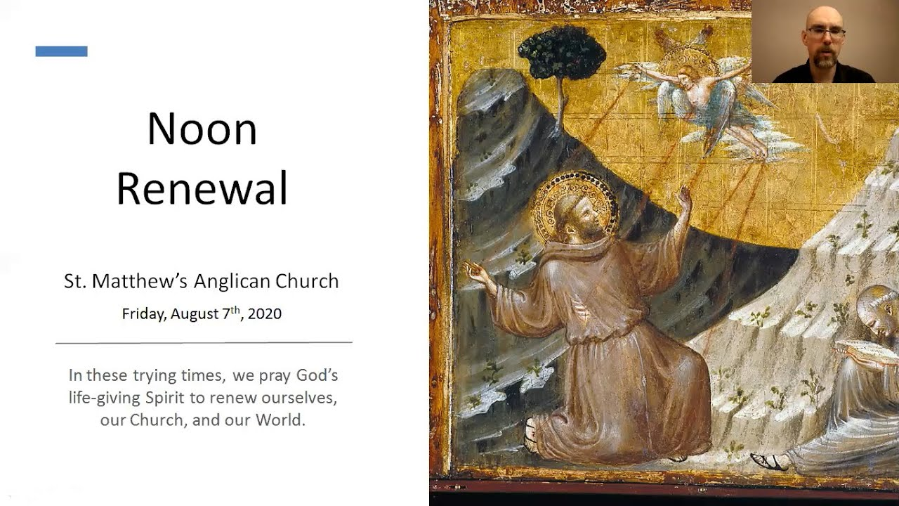 Noon Renewal for Friday, August 7th, 2020
