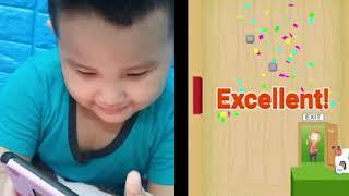 Chơi Cắt Dây cứu người game trí tuệ cho bé 3 tuổi