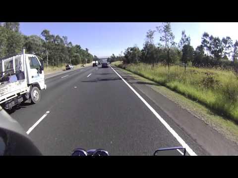 Sydney M4 Motorway Motorcycling, Honda CB400SF VTEC, Australia