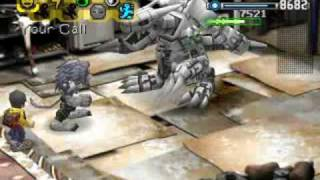 DW1: Panjyamon vs Machinedramon in Ogre Fortress
