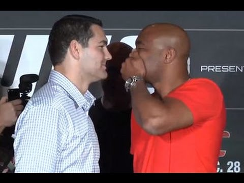 Anderson Silva vs Chris Weidman II: Full UFC Las Vegas Press