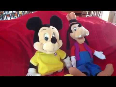 Worlds Of Wonder Mickey Mouse And Goofy Demo
