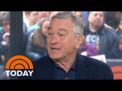 Robert DeNiro Debates Autism's Link To Vaccines | TODAY