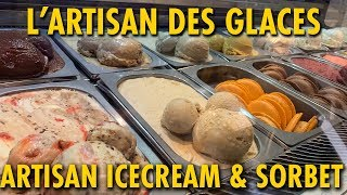 L'artisan Des Glaces | Artisan Ice Cream & Sorbet in Epcot | Trying Fall Flavors