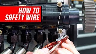 How To Safety Wire Bolts, Grips and Drill Bolt Heads