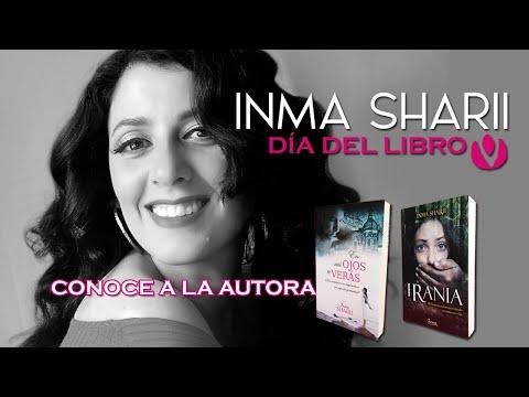 CONOCE A LA AUTORA especial día del libro INMA SHARII + NOTICIA!!!