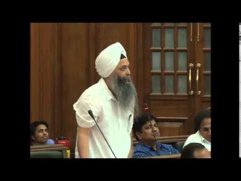 Jarnail Singh speech on 1984 Sikh Genocide in Delhi Assembly Part-3