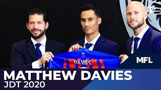 Matthew Davies For Jdt 2020   Mfl