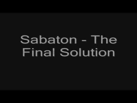 Sabaton - The Final Solution (lyrics) HD