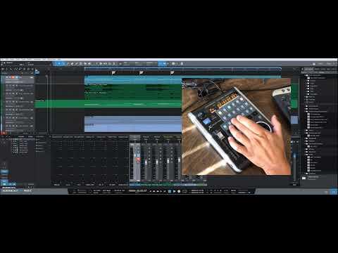 fc472ba4866 Behringer XTouch Mini + MIDI2LR Encoder Knob Demo by The Maximalist ...