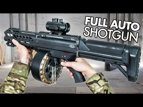 Full-Auto Shotgun Wrecks Airsoft Players