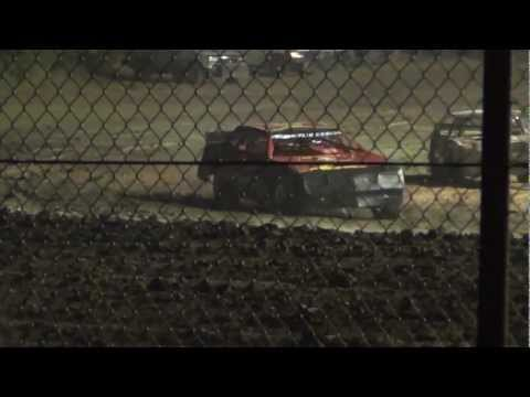 Street Stock Feature (Lee Hobbs Win) 7-6-12 Gas City Speedway