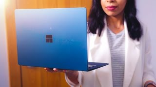 Microsoft's new Surface Laptop! They all run Windows 10S and they'r...