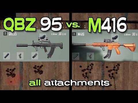 download QBZ95 vs M416 - PUBG QBZ95 AR Guide | PlayerUnknown's Battlegrounds (New Weapon)