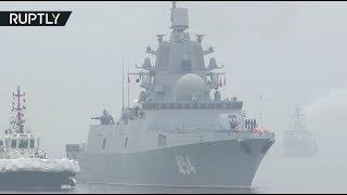 Фрегат «Адмирал Горшков» прибыл в Китай для участия в параде