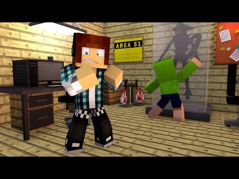 Minecraft: ALIENS Na AREA 51 !! - Aventuras Com Mods #13