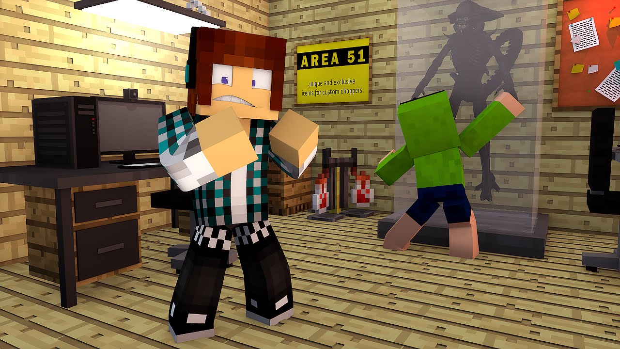 Minecraft aliens na area 51 aventuras com mods 13 for Area 51 progetti