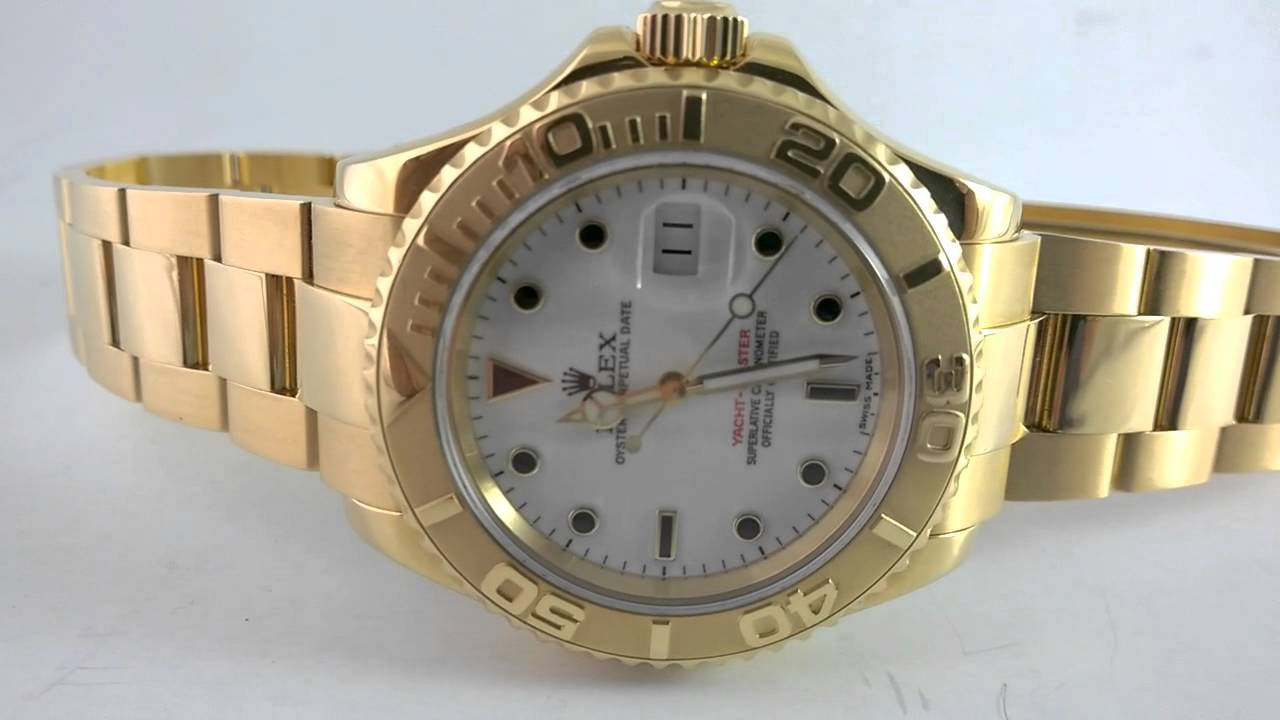 e4a29b99e1d The Solid Gold Rolex Yacht-Master - The Ultimate Pimps Watch - YouTube