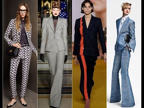 Womens Pants Suits Styles 2017 Youtube