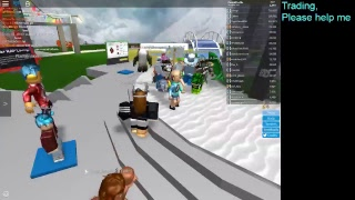 TRADING LIMITEDS ON ROBLOX!