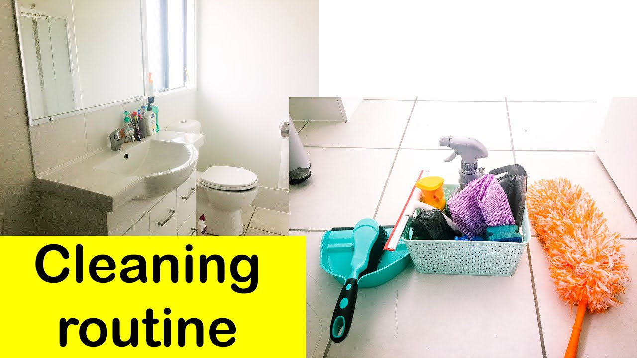 HOW TO CLEAN BATHROOM / BATHROOM CLEANING ROUTINE / WASHROOM ...