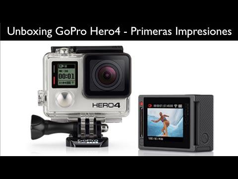 Unboxing GoPro Hero 4 Black   Primeras Impresiones  Vamos de compras!!