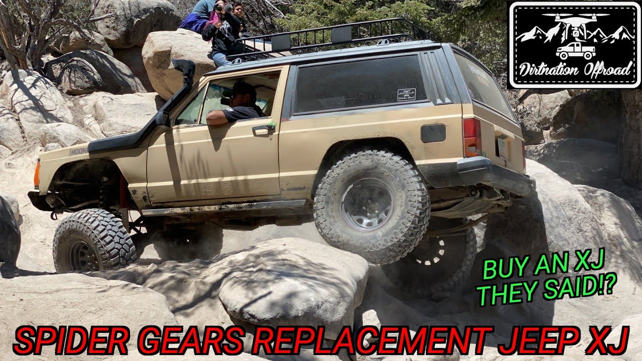 Trial and Error with our Jeep XJ! Jeep Cherokee spider gears replacement!