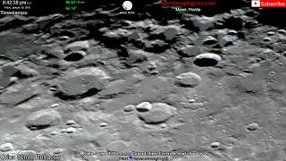 Scanning The Moon Surface LIVE! (1/18/19)