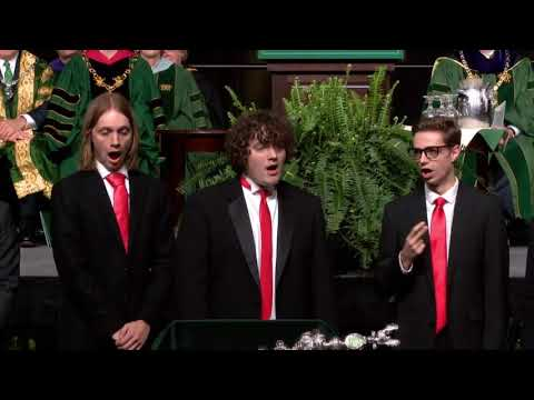 Charter Day 2020: Phi Mu Alpha Sinfonia sings 'Happy Birthday'
