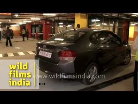 Delhi's first automated parking system