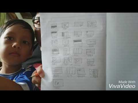 Video Lucu Belajar Menggambar 😁😂 - TANGGUH SATRIA PUTRA