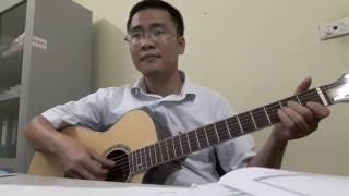 Tháng sáu mùa thi. Đệm hát guitar