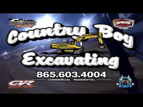 #21 Casey Turman - Super Late Model - 5-19-17 Crossville Speedway - In-Car Camera