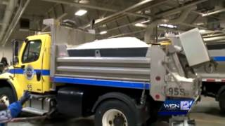 Waukesha Co. ready for evening snow