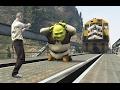 GTA 5 KILLING SHREK? Funny moments #6 (brutal/funny compilation)