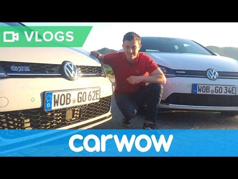 Volkswagen Golf GTE and e-Golf 2018 review | Mat Vlogs